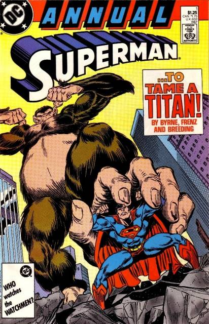 Superman (1987 Series) Annual no. 1 - Used