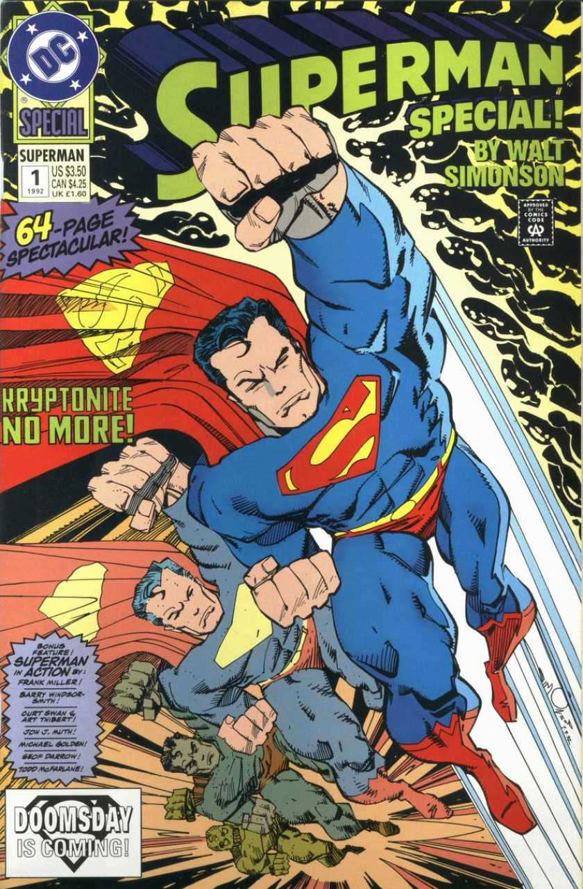 Superman (1987) 1992 Special - Used