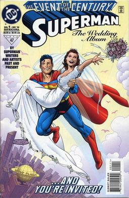 Superman (1987) Wedding Album Special no. 1 - Used