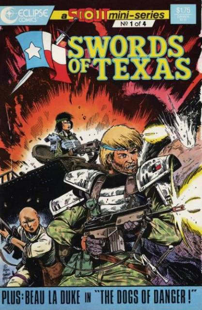 Swords of Texas - a Scout Mini Series (1987) Complete Bundle - Used