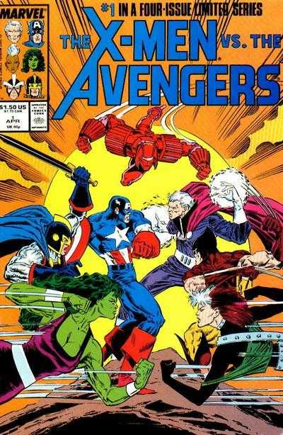 X-Men Vs the Avengers (1987) Complete Bundle - Used