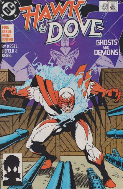 Hawk and Dove (1988 mini series) Complete Bundle - Used