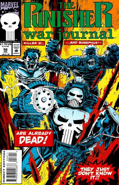 Punisher War Journal (1988) no. 56 - Used