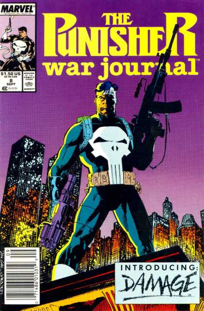 Punisher War Journal (1988) no. 8 - Used