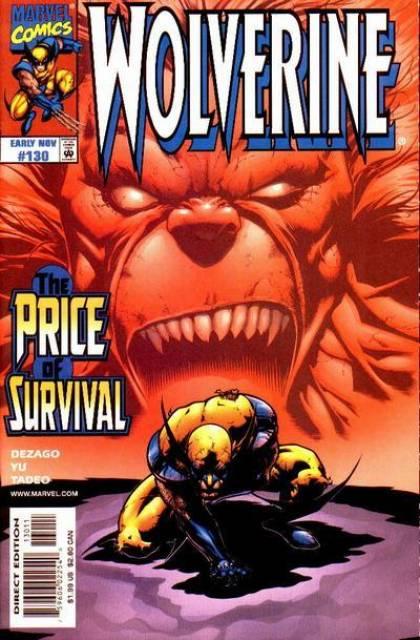 Wolverine (1988) no. 130 - Used