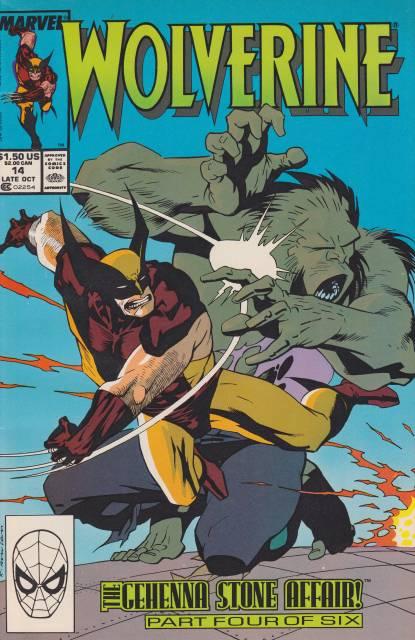 Wolverine (1988) no. 14 - Used