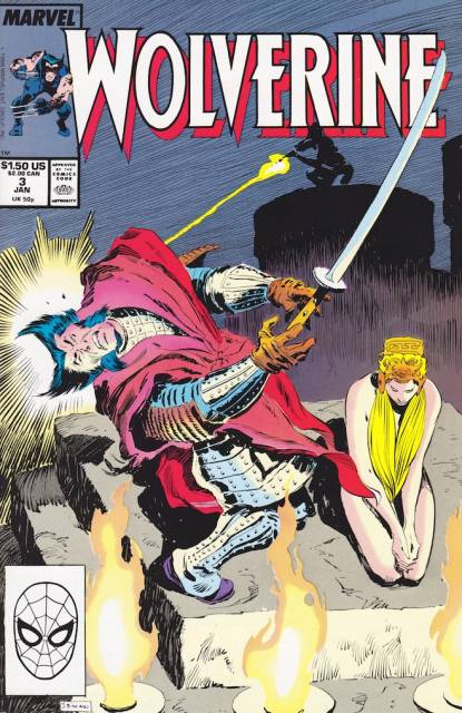 Wolverine (1988) no. 3 - Used
