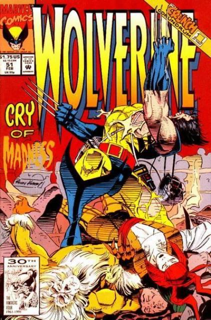 Wolverine (1988) no. 51 - Used