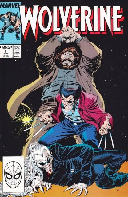 Wolverine (1988) no. 6 - Used