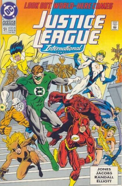 Justice League Europe (1989) no. 51 - Used
