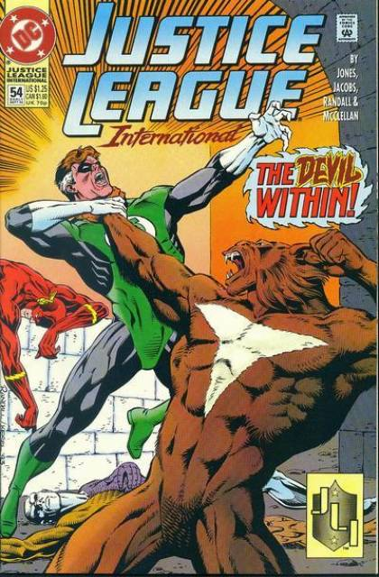 Justice League Europe (1989) no. 54 - Used