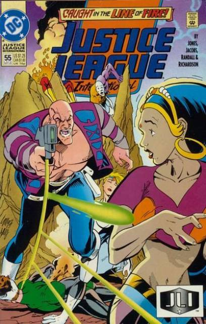 Justice League Europe (1989) no. 55 - Used
