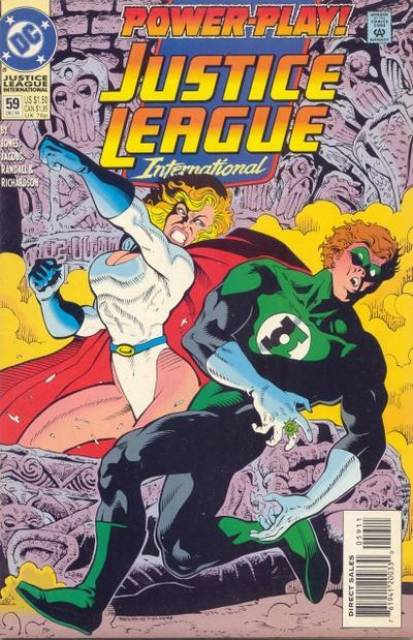 Justice League Europe (1989) no. 59 - Used
