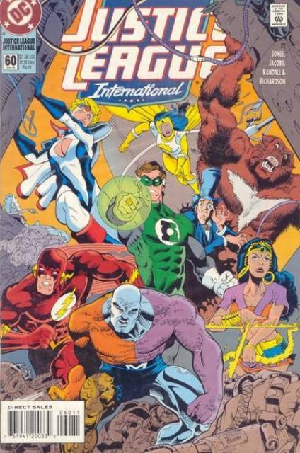 Justice League Europe (1989) no. 60 - Used