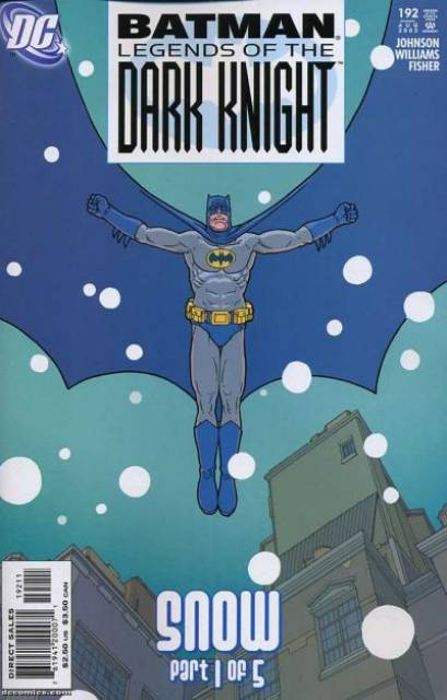 Batman: Legends of the Dark Knight (1989 Series) no. 192 - Used