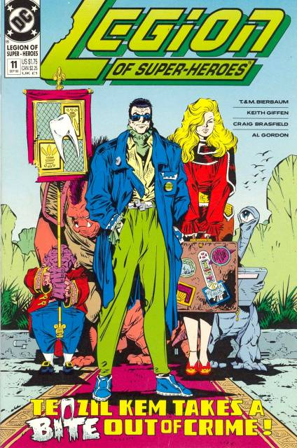 Legion of Super-Heroes (1989) no. 11 - Used