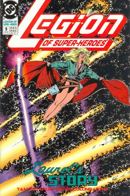 Legion of Super-Heroes (1989) no. 9 - Used