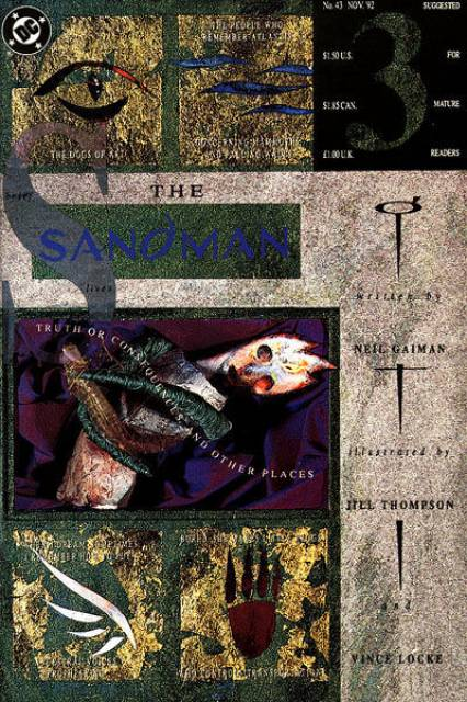 The Sandman (1989) no. 43 - Used