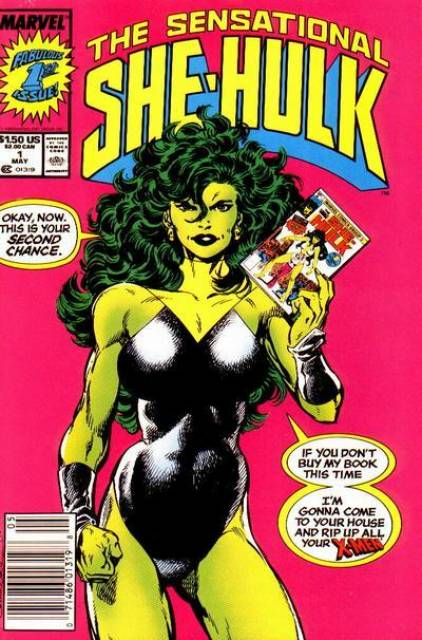 Sensational She-Hulk (1989) no. 1 - Used