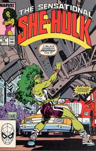 Sensational She-Hulk (1989) no. 10 - Used
