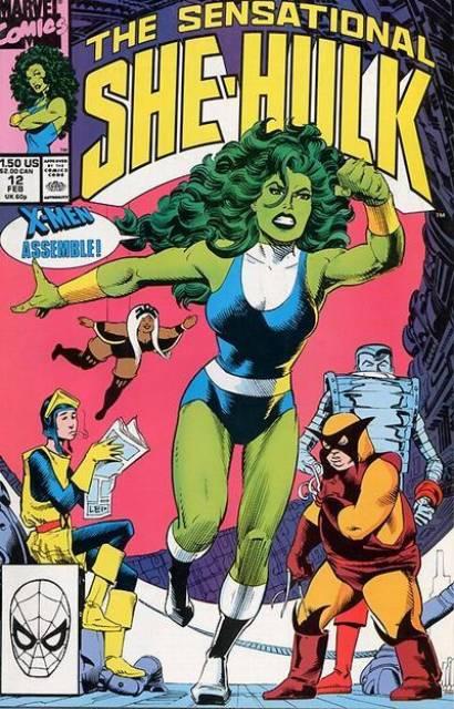 Sensational She-Hulk (1989) no. 12 - Used