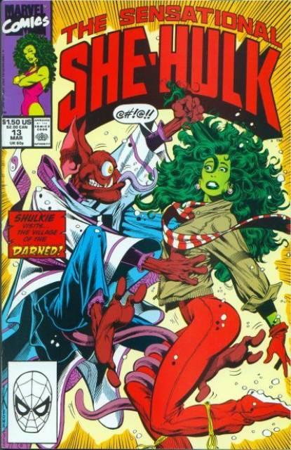 Sensational She-Hulk (1989) no. 13 - Used