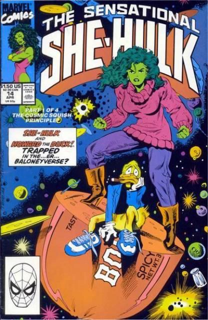 Sensational She-Hulk (1989) no. 14 - Used
