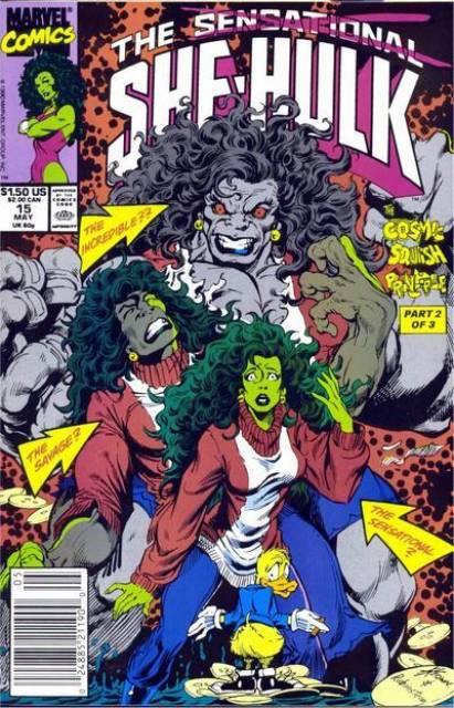 Sensational She-Hulk (1989) no. 15 - Used