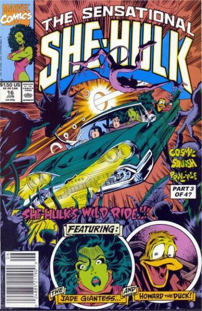 Sensational She-Hulk (1989) no. 16 - Used