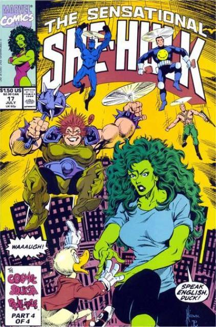 Sensational She-Hulk (1989) no. 17 - Used