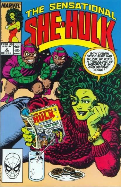 Sensational She-Hulk (1989) no. 2 - Used