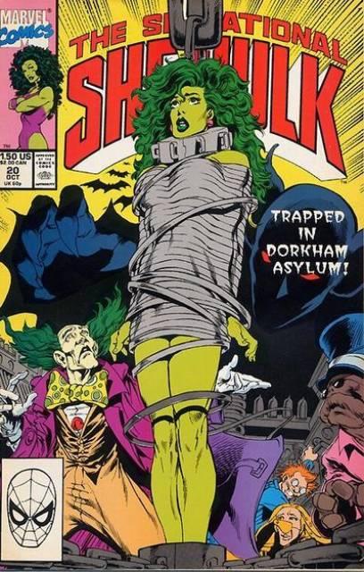 Sensational She-Hulk (1989) no. 20 - Used