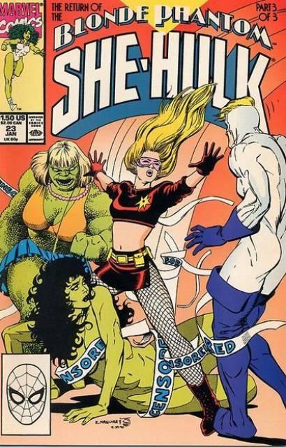 Sensational She-Hulk (1989) no. 23 - Used