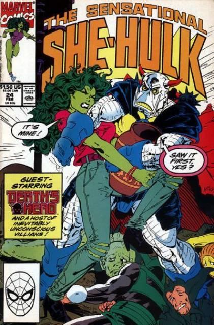Sensational She-Hulk (1989) no. 24 - Used