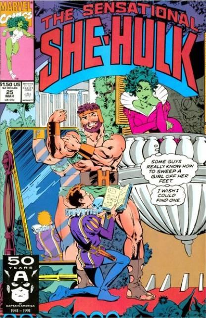 Sensational She-Hulk (1989) no. 25 - Used