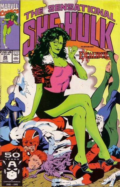 Sensational She-Hulk (1989) no. 26 - Used