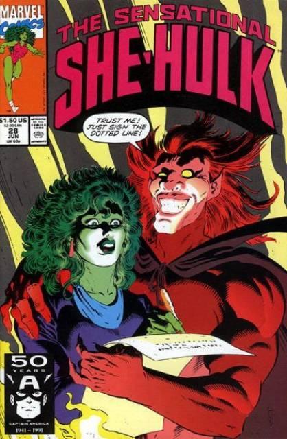 Sensational She-Hulk (1989) no. 28 - Used