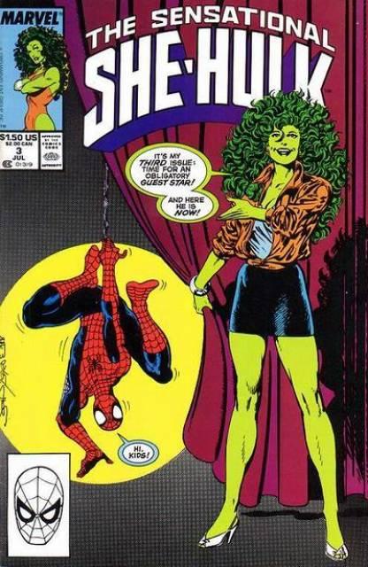 Sensational She-Hulk (1989) no. 3 - Used