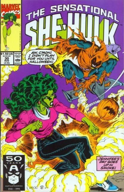 Sensational She-Hulk (1989) no. 30 - Used
