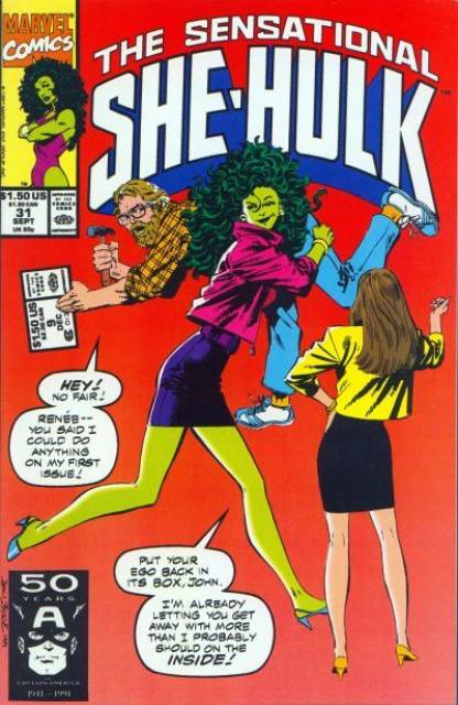 Sensational She-Hulk (1989) no. 31 - Used