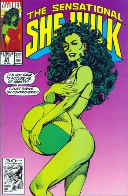 Sensational She-Hulk (1989) no. 34 - Used
