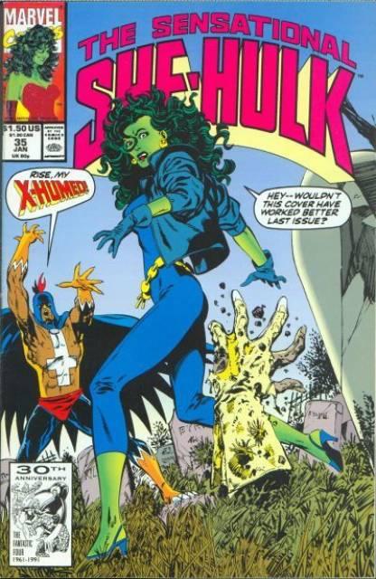 Sensational She-Hulk (1989) no. 35 - Used