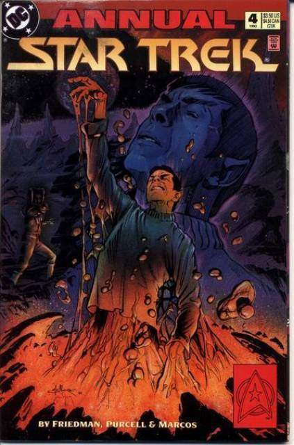 Star Trek (1989) Annual no. 4 - Used