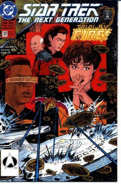 Star Trek: The Next Generation (1989) no. 32 - Used