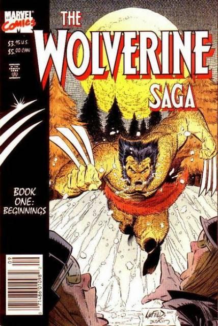 Wolverine Saga (1989) Complete Bundle - Used