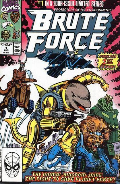 Brute Force (1990) Complete Bundle - Used