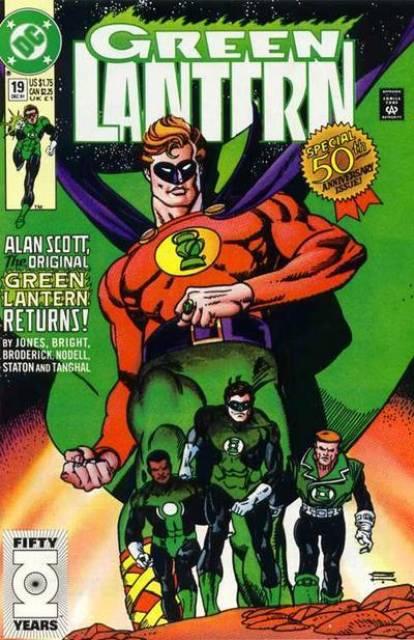 Green Lantern (1990) no. 19 - Used