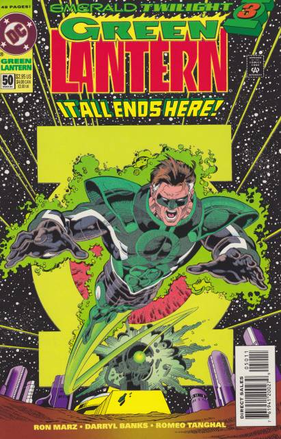 Green Lantern (1990) no. 50 - Used