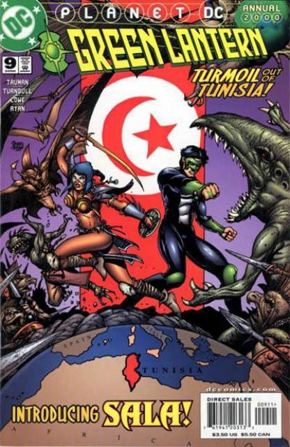 Green Lantern (1990) Annual no. 9 - Used