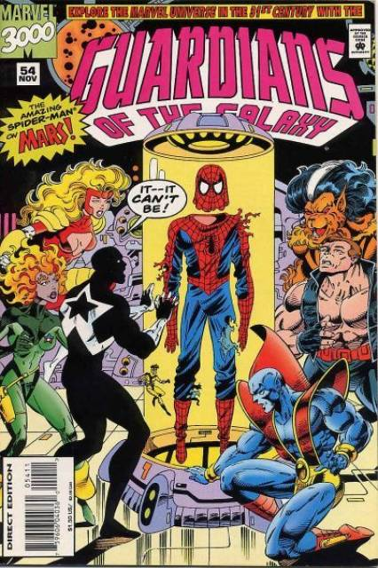 Guardians of the Galaxy (1990) no. 54 - Used